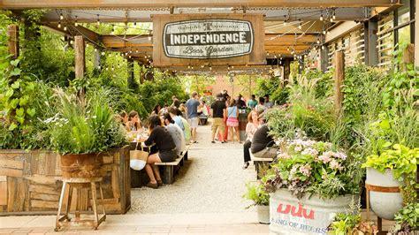 independence beer garden returns    season