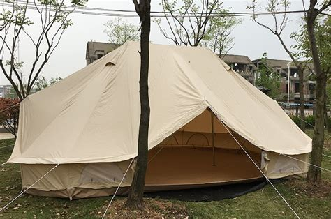 yurt trader canvas and relite wall tents luxury yurt tent cotton canvas bell tent with zip in