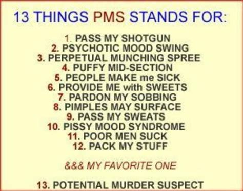 what is good for pms mood swings good pms joke it s called pms because quot mad cow diesease