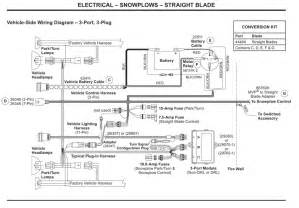 western vehicle side wiring diagram 3 port 3
