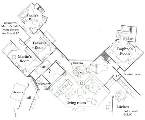 frasier crane apartment floor plan frasier crane s apartment goodnight seattle