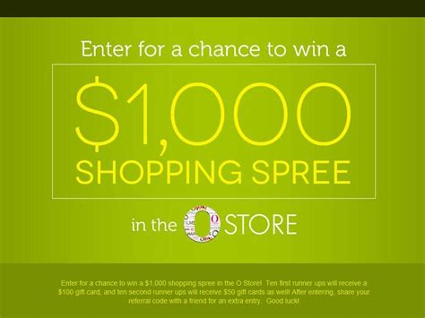 Store Sweepstakes - the o store sweepstakes