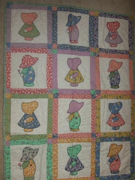 Sue Bonnet Quilt by You To See Sun Bonnet Sue On Craftsy