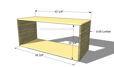 how to build a tv how to build a tv stand howtospecialist how to build