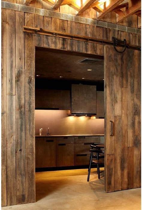 sliding barn doors  practical solution  large