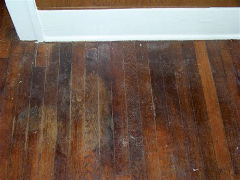 water stains on hardwood floors home dzine home diy how to sand and seal a wooden floor