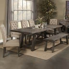 Dining Room Table Set With Bench Corner Bench Dining Table Set Foter