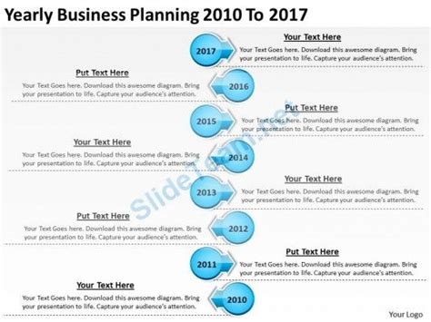 yearly business plan format 30 best images about timelines powerpoint templates on