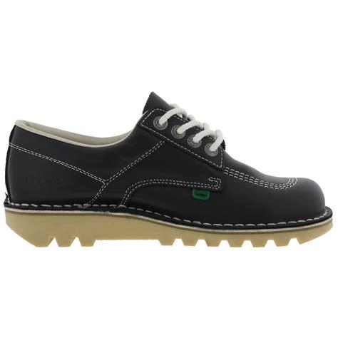 Kickers Neadle Casual Blue kickers kick lo mens navy blue leather shoes ebay