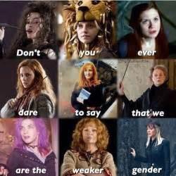 bellatrix lestrange watson ginny weasley harry
