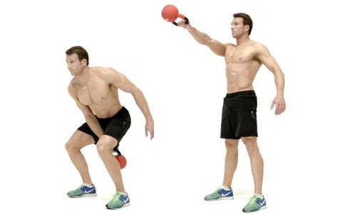 kettle bell swing actualley forget it you won t reach that size easily