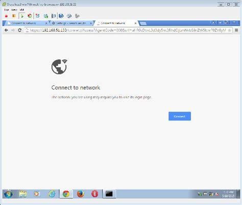 google themes network failed captive portal redirection fails in google chrome