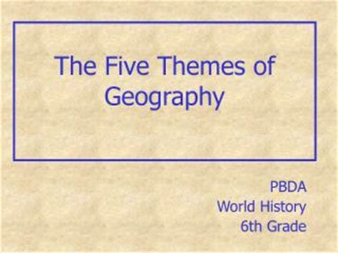 5 themes of geography toronto ppt absolute and relative location powerpoint