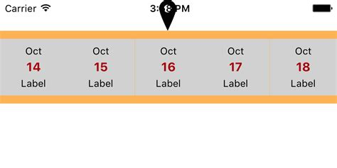uicollectionview layout change animation ios horizontal uicollectionview single row layout