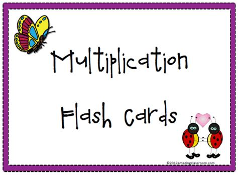 printable flash cards multiplication printable multiplication flash cards