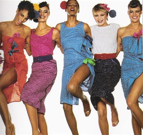 imagenes retro años 80 toda la moda de los a 241 os 80 modaellas com