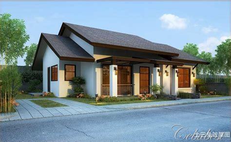 农村一层平房效果图 土巴兔装修效果图 Affordable House Design Ideas Philippines