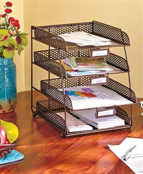 desk letter organizer best 25 desktop file organizer ideas on paper