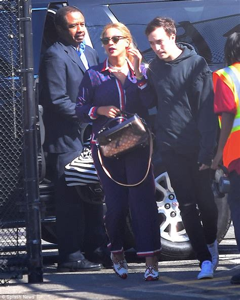 jay z beyonce black rage over whiteout at tidal beyonce and jay z step out with blue ivy rumi and sir