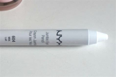 Nyx Pencil Jumbo Milk nyx jumbo eye pencil milk 604 review and swatches