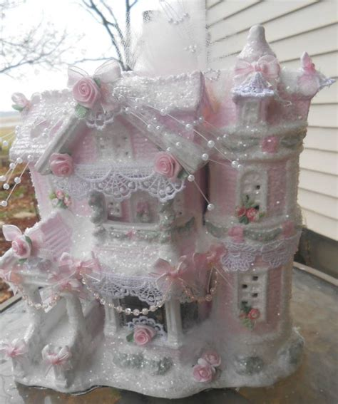 Kaligrafi Shabby Chic Pink shabby pink house chic roses glitter ebay make this