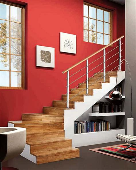 Living Room Stairs Ideas by Stairs Storage With Living Area