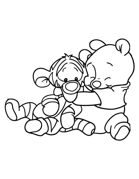 winnie pooh para pintar az dibujos para colorear dibujos de winnie pooh bebe para colorear az color on