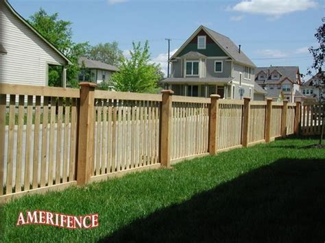 picket fence nashville fence and deck framed picket fence wood fence outdoor oasis ideas for