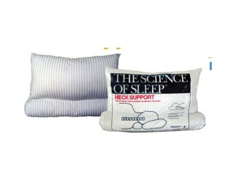 Science Of Sleep Pillow by Science Of Sleep Neck Support Pillow 25 Quot X 19 Quot