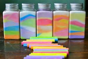 colored salt how to diy rainbow colored salt jar icreativeideas