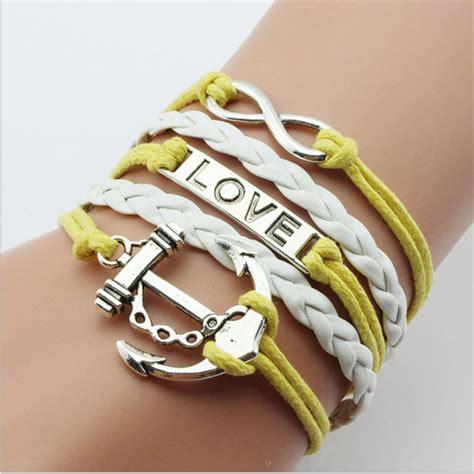 pulseras de cuero hechas a mano venta al por mayor pulseras de y amistad compre