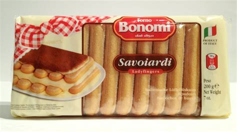 Finger Savoiardi Biscuit Biscuit For Tiramisu 200gr bonomi savoiardi l 246 ffelbiskuits 200 gr feinkost shop