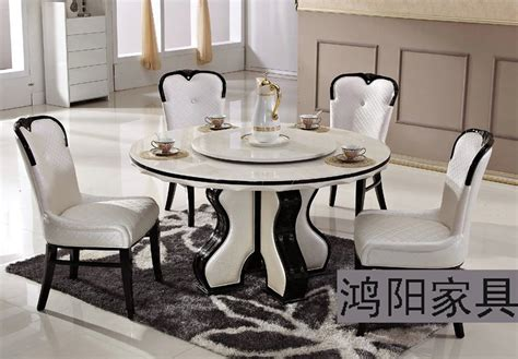 White Marble Dining Table And Chairs Ikea White Marble Dining Table Table Turntable Solid Wood Dining Table And Chairs Garden