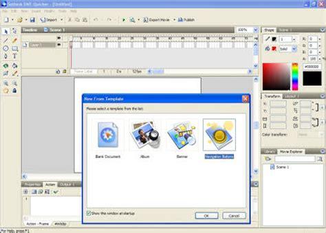 adobe flash animation templates flash swf editor free flash animation creator