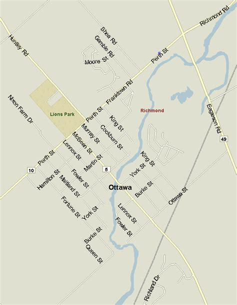 richmond map ontario listings canada