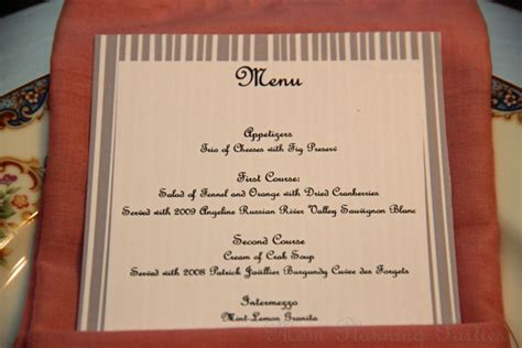 elegant formal dinner menu ideas my gran tells me that she has received formal dinner