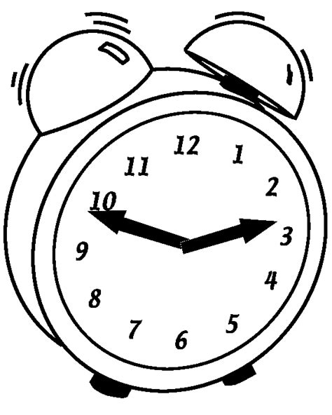 color clock pages time clock coloring pages and worksheets