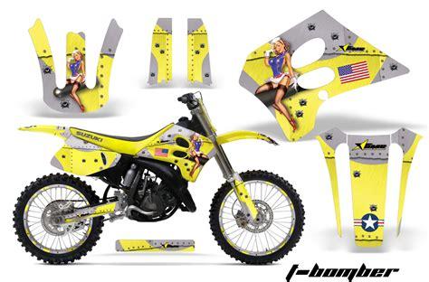 Kit For Suzuki Suzuki Motocross Graphics Kit Suzuki Mx Graphics Sticker