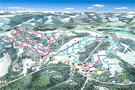 mapy tras narciarskich