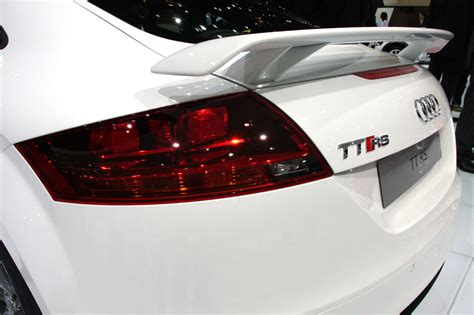 Audi Tt Rs Spoiler by Tt Rs Pop Up Spoiler Is Still There Probably Just