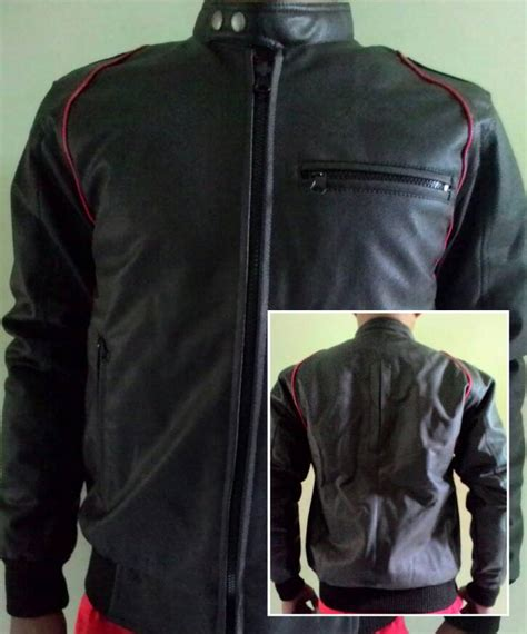 Jaket Kulit Murah Kulit Sintetis jual jaket kulit ariel jaket kulit bandung murah pusat grosir distro