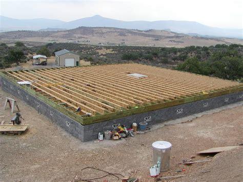 Macky's New House · Foundation & Subfloor