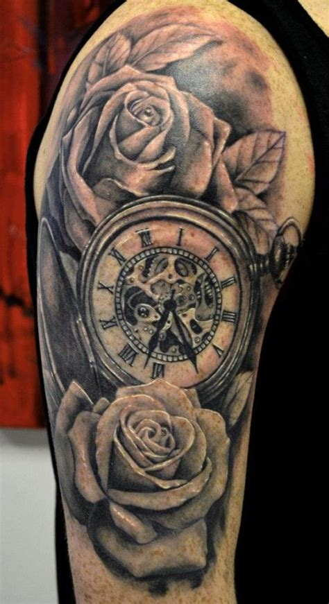 rose and clock tattoo meaning 17 best images about clock tattoos on