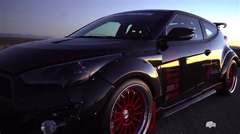 Hyundai Proving Grounds by Blood Type Racing Veloster At Hyundai Proving Grounds