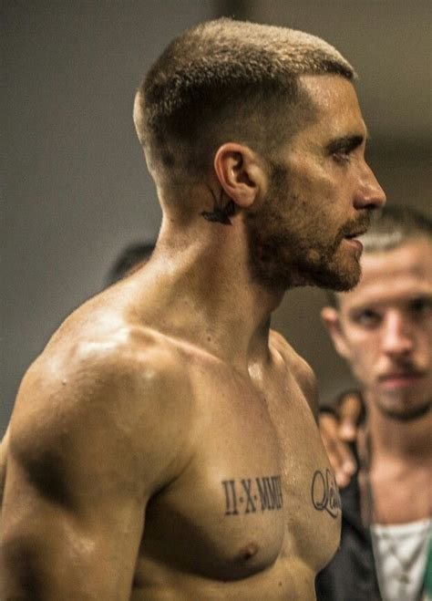neck tattoo in southpaw 74 best jake gyllenhaal images on pinterest jake