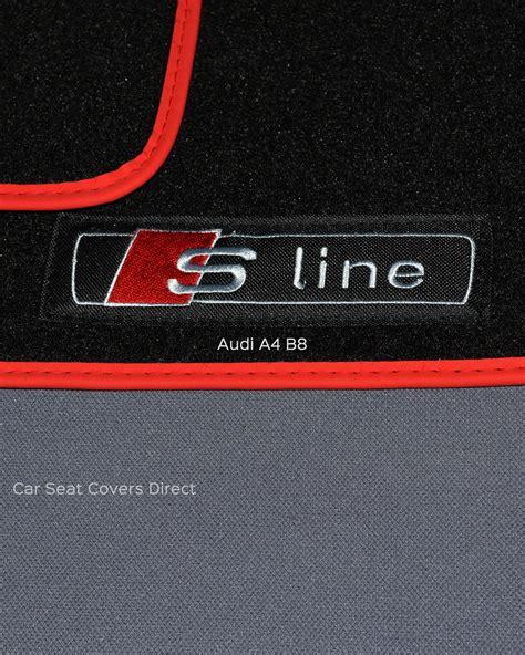 audi a4 b8 floor mats audi a4 b8 s line car mats car seat covers direct