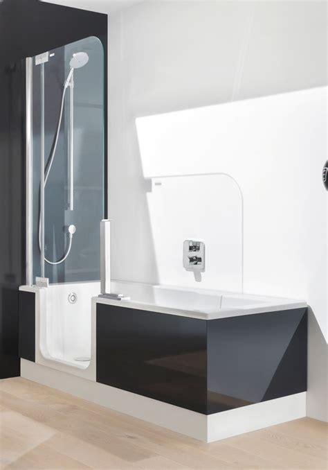 dusch badewanne duschbadewanne twinline 2 badewanne der zukunft artweger