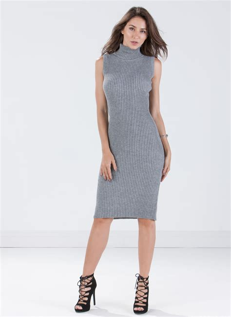 knit bodycon dress honestly ribbed knit bodycon dress hgrey gojane