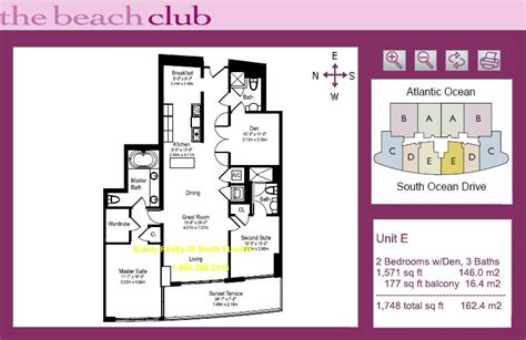 club floor plans club one hallandale condo 1850 south dr