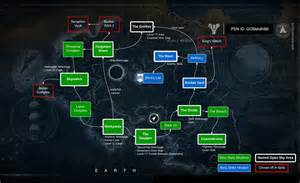 Destiny earth map ps4 ps3 xbox one xbox 360
